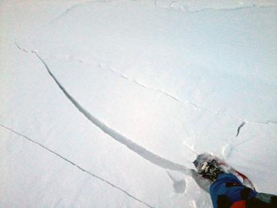 avalanches - woum et fissuration